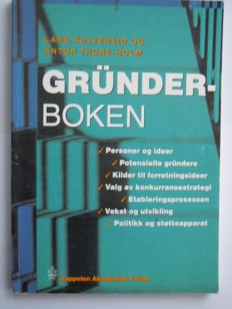 Gr�nderboken (Lars Kolvereid og Anton Thune-Holm)