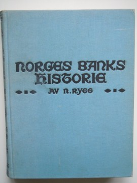 Norges Banks historie II (B Rygg)