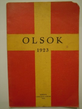 Olsok 1923 (Olaf Hanssen red m fl)