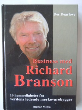 Business med Richard Branson (Des Dearlove)